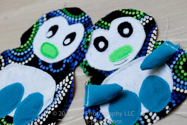 twin stuffed pengiuns