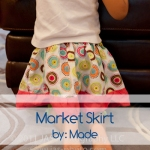 cute toddler skirt - the market skirt by made