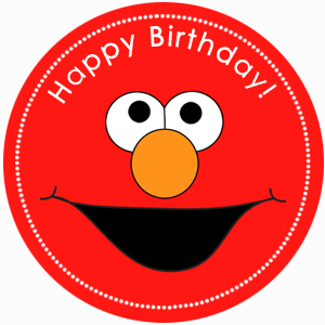 cute diy elmo cupcake topper