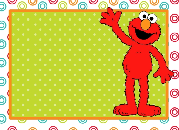 Elmo background imagui for Elmo template for invitations