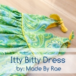 amazingly simple yet beautiful dress pattern for little girls