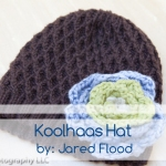 intricate spiral hat pattern by jared flood