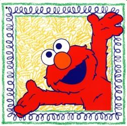 happy elmo graphic