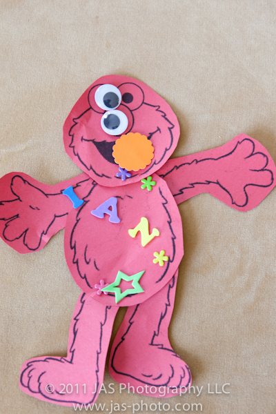 build your own elmo activity for elmo party theme