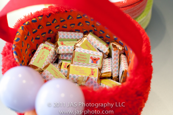 personalized elmo candy bar wrappers for a sesame street elmo party theme