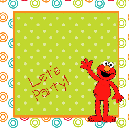 Elmo Birthday Party Theme for a Budget With TONS of Free – Free Printable Elmo Birthday Invitations