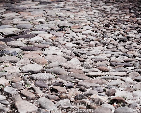 cobblestone road fine art photography