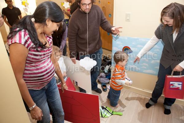 little einstein's birthday party activity idea with rocket