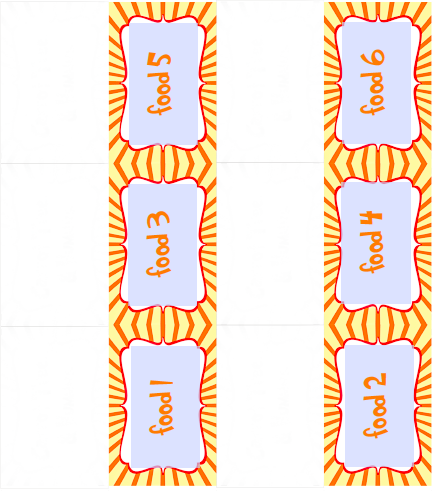 Free lorax printable download: Editable tent cards. Great to use for food labels, decorations and activities!