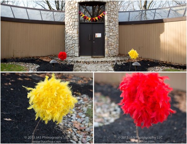 lorax party decorations ideas outside of house