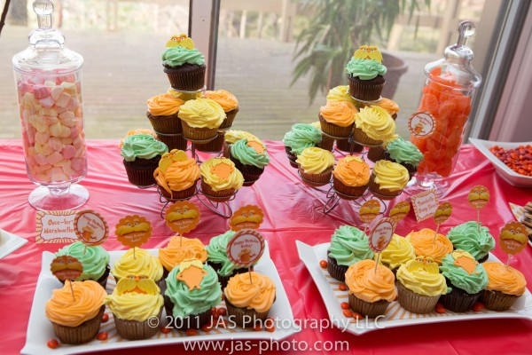 lorax party dessert table