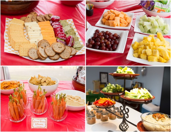 lorax party snack table ideas