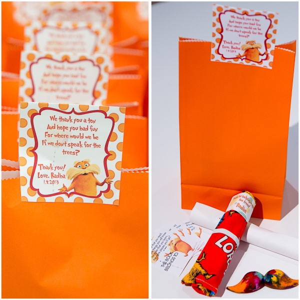 lorax party favor bags ideas